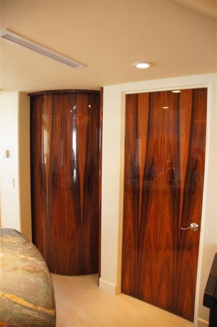 CUSTOM INTERIOR DOORS - High Gloss contemporary-windows-and-doors