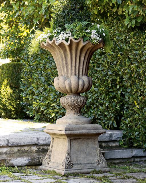 """Acanthus"" Urn & Pedestal bathroom-sinks"