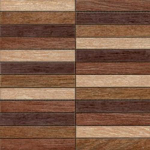Sintesi Wood Mix Mosaic floor-tiles