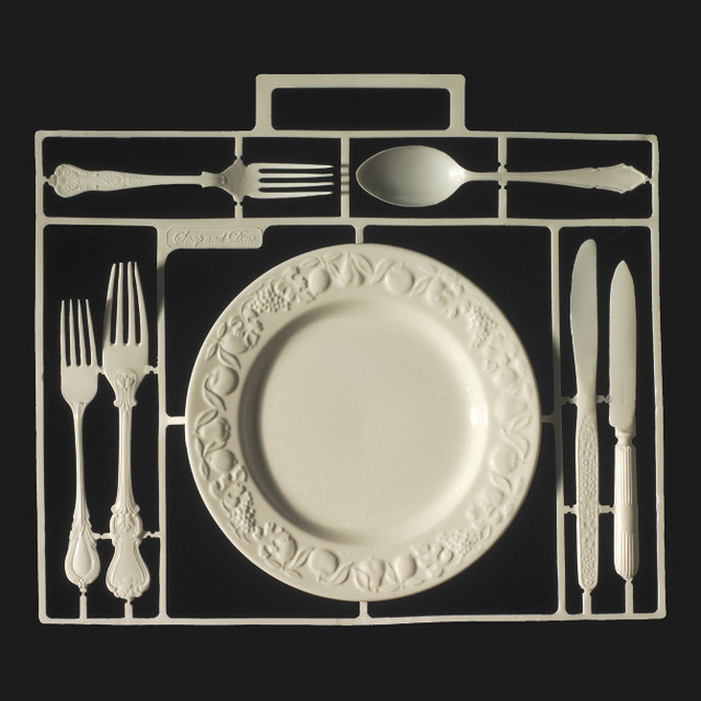 Snap And Dine eclectic dinnerware