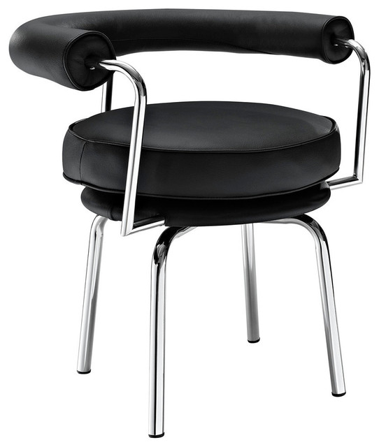 Modway Saloon Dining Armchair in Black contemporary-dining-chairs