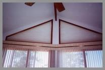 Keowee Lakefront Home Renovation window-blinds