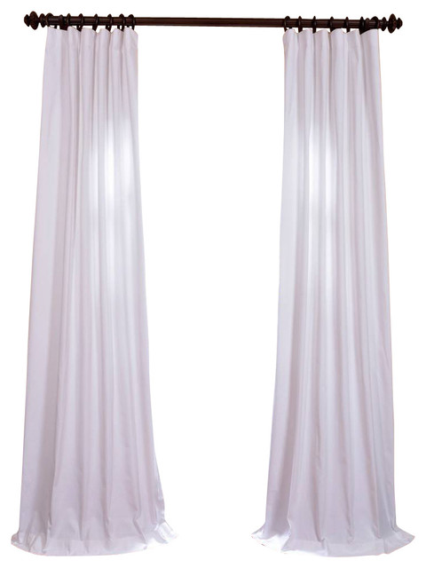 bright white cotton twill curtain traditional curtains by half