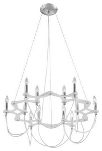 Triumph 12 Light Chandelier modern-chandeliers