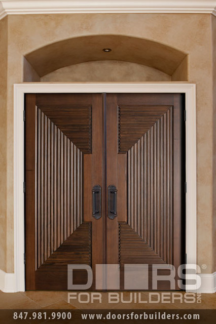 SOLID WOOD ENTRY DOORS-DOORS FOR BUILDERS, INC contemporary interior doors