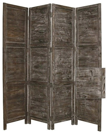 Privacy Screen with Turn of the Century American Design traditional-screens-and-room-dividers