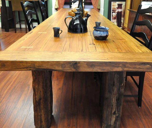 Farm Style Wood Dining Table images : farmhouse dining tables from pix-hd.com size 640 x 540 jpeg 120kB