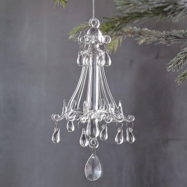 Elaborate Chandelier Ornament contemporary-christmas-ornaments