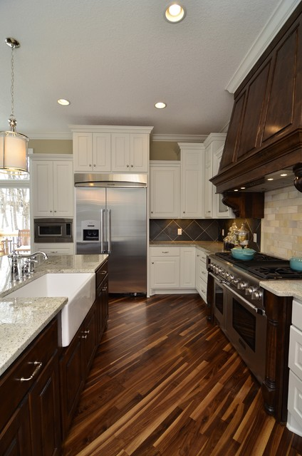 Woolman Woods Model - Spring 2012 traditional kitchen