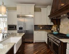 Woolman Woods Model - Spring 2012 traditional-kitchen