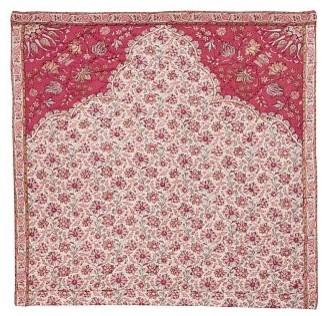 Carlotta Wholecloth Sham, Euro, Coral traditional-pillowcases-and-shams