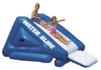 Inflatable Water Slide for Pool modern-swimming-pools-and-spas