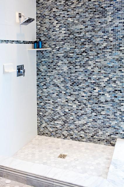 The Tile Shop Inspirational Spaces contemporary-bathroom