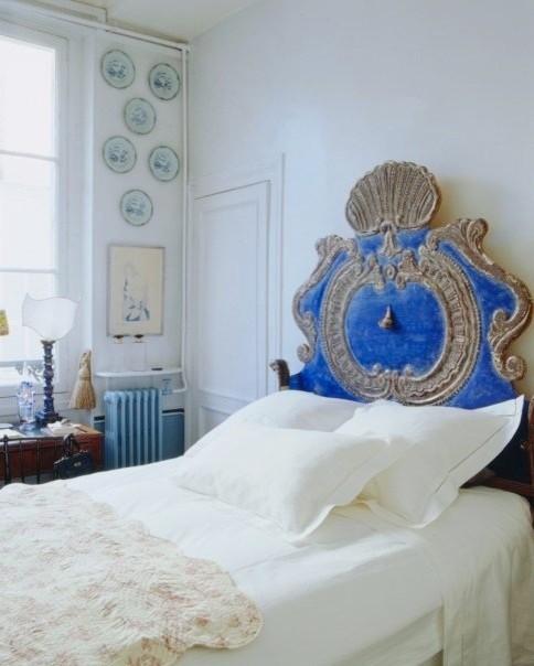 Paris Apt. eclectic-bedroom