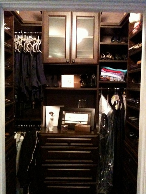 High end walk in closets for High end closet design