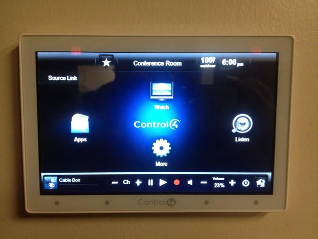 Control4 Media Control modern