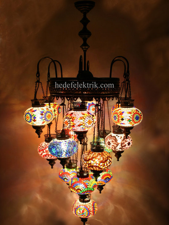 Turkish Style - Mosaic Lighting - Code: HD-04160_56