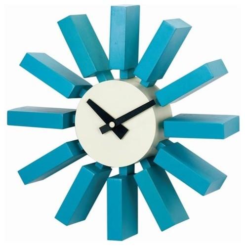 George Nelson Block Clock modern-clocks