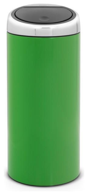Brabantia Touch Bin®, 8 Gallon, Apple Green modern-trash-cans
