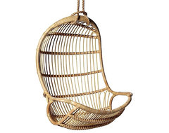 Hanging Rattan Chair contemporary outdoor chairs
