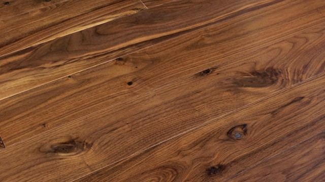 American Walnut Natural Engineered Plank Wood Floor