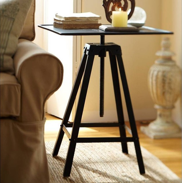 Potter's Wheel Accent Table - Pottery Barn eclectic-side-tables-and-end-tables