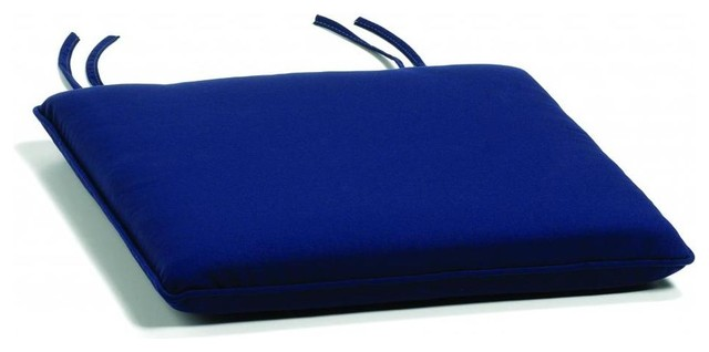 Side chair Cushion, Navy traditional-outdoor-cushions-and-pillows