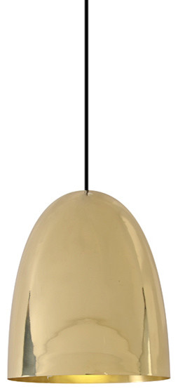 Original BTC Stanley 3 Brass Pendant - Original BTC modern-pendant-lighting