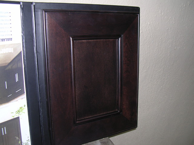 Model# 4D Chocolate Maple recessed Panel Kitchen Cabinets contemporary-kitchen-cabinets