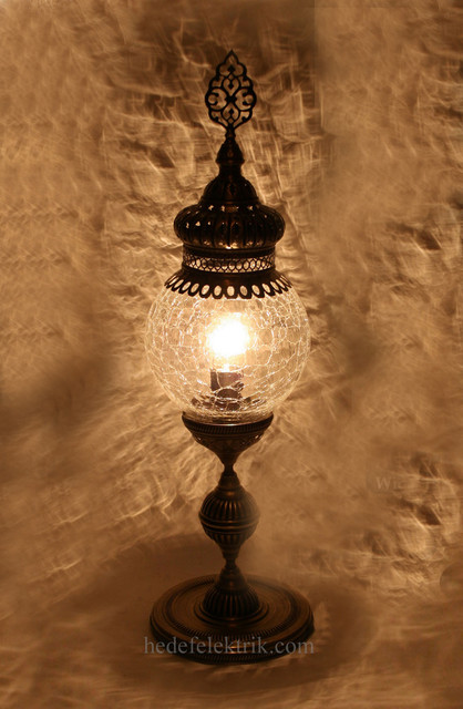 Turkish Style Ottoman Table Lamp mediterranean-table-lamps