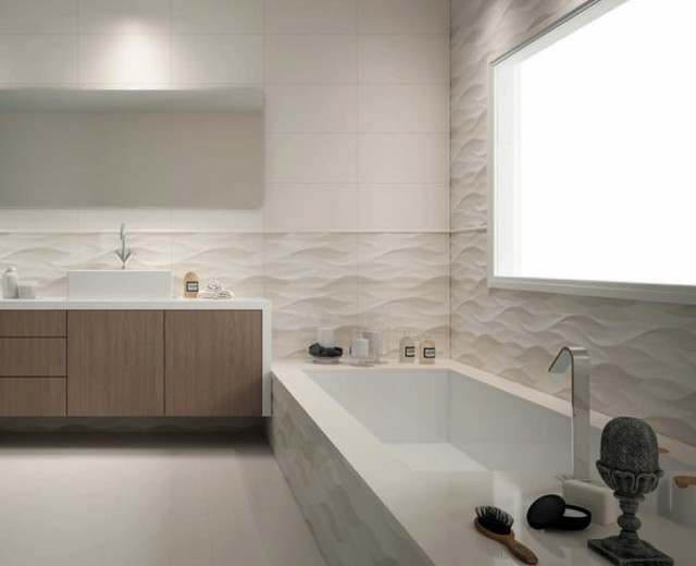 Trends 2015 contemporary tile other metro by lucke for Contemporary bathrooms 2015