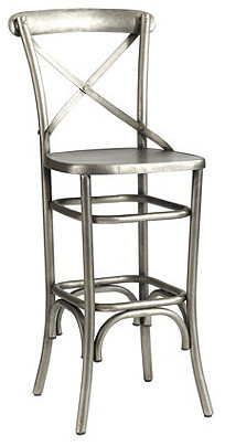 Constance Metal Barstool Industrial Bar Stools And