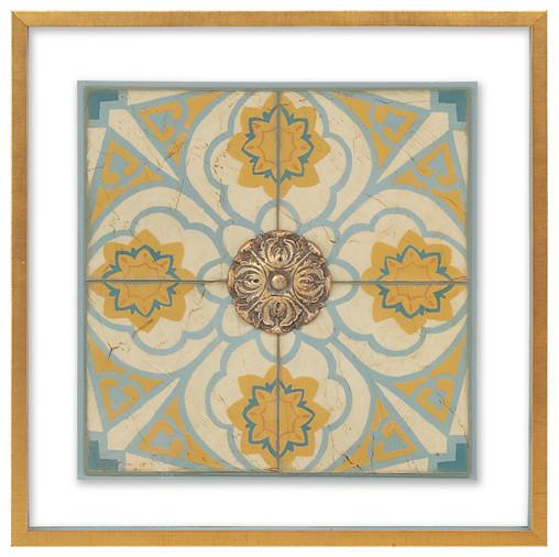 John Richard Old World Tiles Ii contemporary