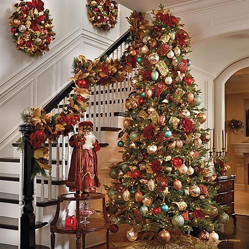 Williamsburg Decor Kit With 9 39 Nordmann Fir Tree