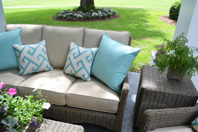 Outdoor Furniture - Transitional - Outdoor Sofas - new orleans - by Dixon Smith Interiors