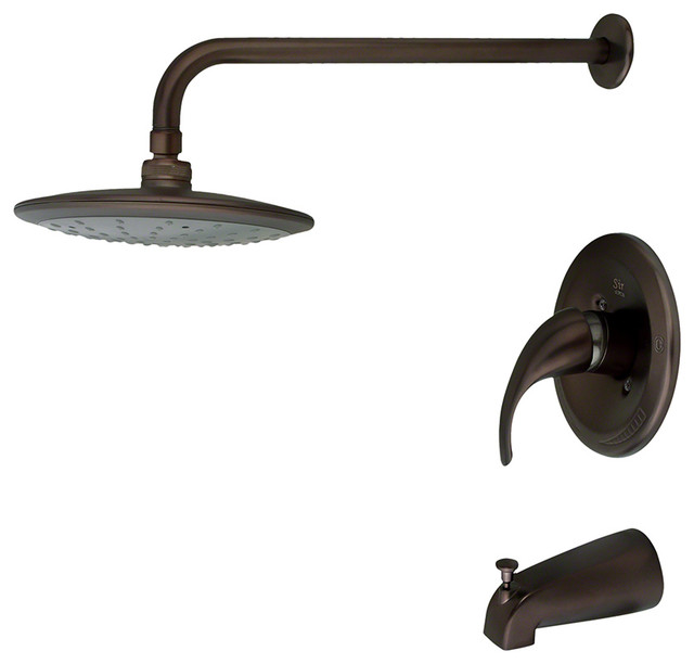 Inspiring Oil Rubbed Bronze Shower Head And Faucet Pictures - Ideas ...
