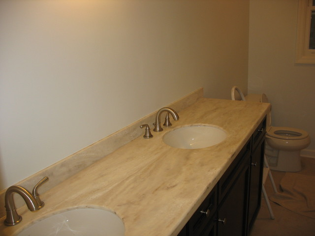 Corian Witch Hazel - Contemporary - Vanity Tops And Side ...