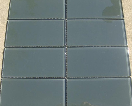 D32 Glass Mosaic Tile - D32 Glass Mosaic Tile Cabinet Hardware Sample