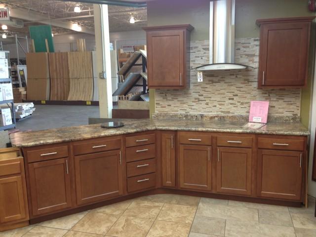 Kitchen Kompact Glenwood Beech Cabinets