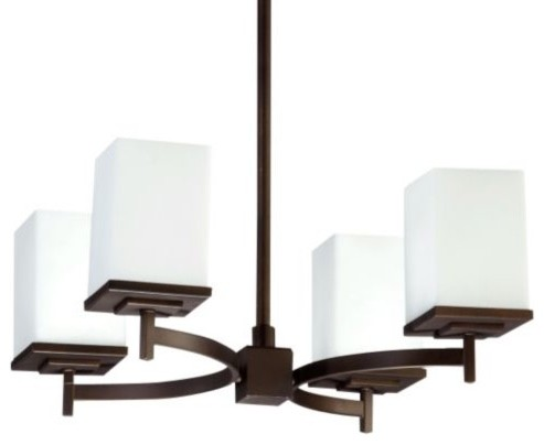 Delta Chandelier by Quorum International contemporary-chandeliers