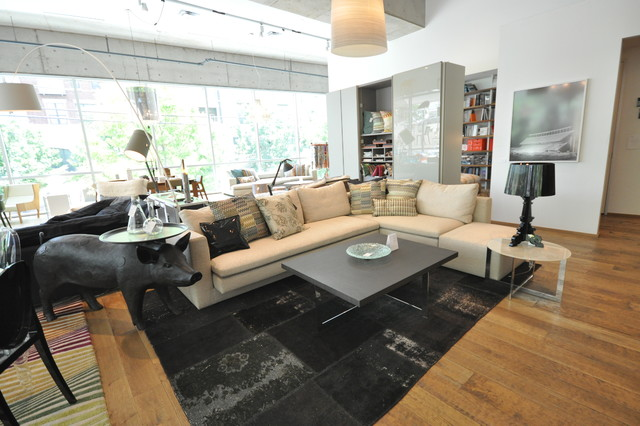 Sofa and Tables from Molteni & C modern-furniture