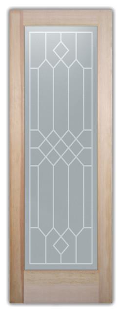 Bathroom Doors - Glass Bathroom Door Frosted Obscure  Camelot interior-doors