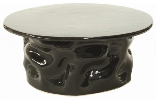 Round Ripple Cake Plate modern-serveware