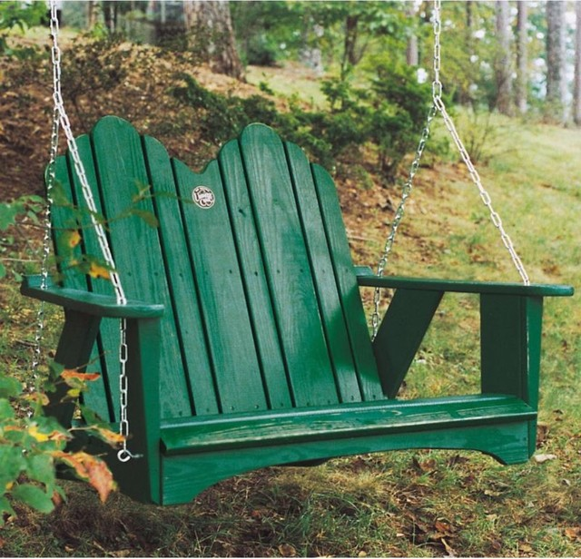 Uwharrie Chair Classic Original Porch Swing modern-accent-chairs