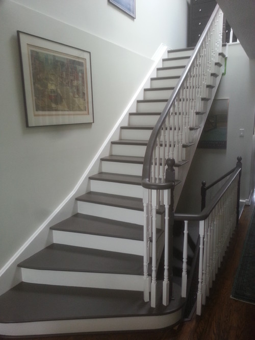 Comment 164 bookmark 262 like 71 for Painted stair treads