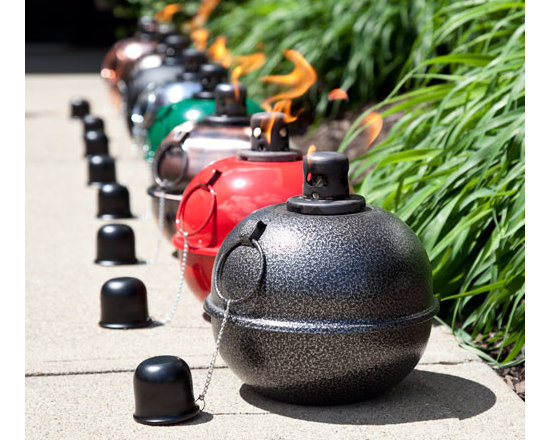 Color - With a rich history of being used as warning lights for road construction and runway lights for airfields, the smudge pot has now been adapted for outdoor lighting. Self-righting and wind-resistant, these quaint patio lights can be filled with lamp oil or citronella oil.--Signature Hardware