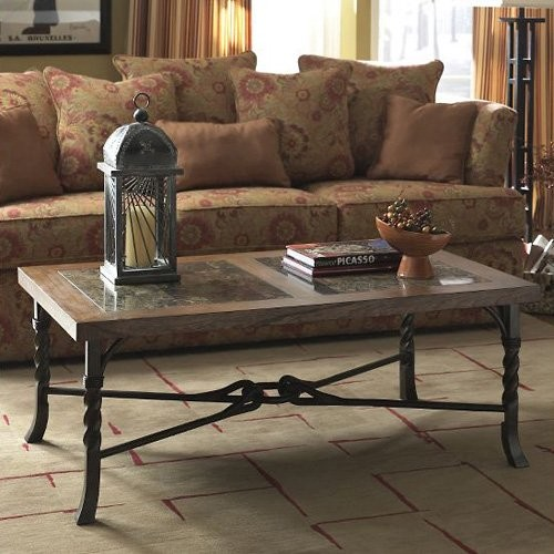Riverside Medley Rectangular Cocktail Table traditional-coffee-tables
