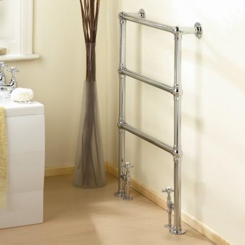 Countess Traditional Hydronic Heated Towel Warmer Bathroom Radiator - Contemporary - Towel ...