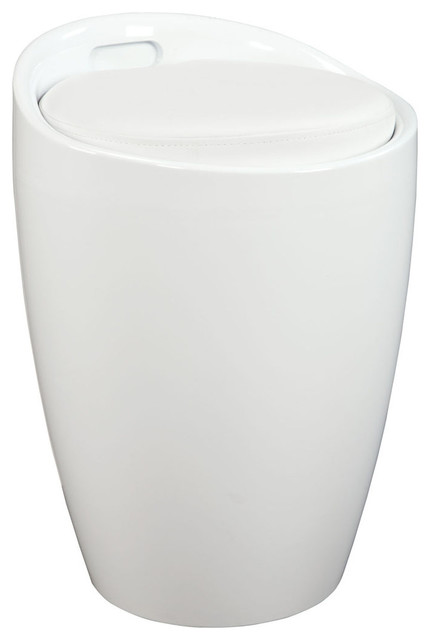Standard Furniture Jetson Stool in White traditional-chairs
