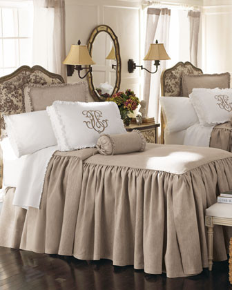 Legacy Home Essex Bed Linens King Essex Dust Skirt traditional bedskirts